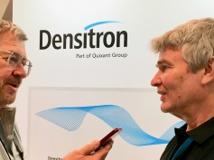 Jay Ankeney from The Broadcast Bidge interviewing Martyn Gates, dir. product development, Densitron