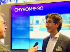 Jay Ankeney from The Broadcast Bridge interviewing Marco Lopez, CEO, ChyronHego