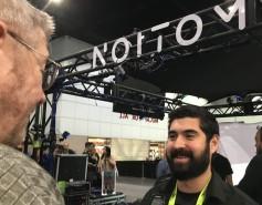 Jay talking to Alexander Alvarez of Noitom