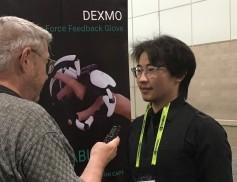 Jay and Dexmo Robotics' CEO Aller Gu