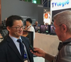 Charlie Shin, Managing Director, Broadcast Equipment Division of TVLogic, talks with Jay.