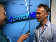 Jay speaks with the new CEO of ChyronHego, Ariel Garcia.