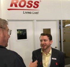 Jay talks with Ross Video's assoc. marketing product manager, Garner Millward.