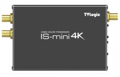 IS-mini 4K, a real time digital color processor, comes with free WonderLook Pro software