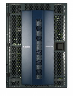 An Imagine Communications Platinum IP3 router was installed on board, seamlessly integrating uncompressed video over IP.
