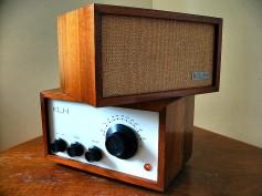 KLH Model 8 designed by Kloss.