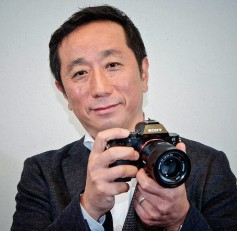 Kimio Maki, senior general manager of Digital Imaging Business Group for Sony.