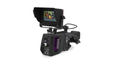 The optional VF7-100X is a high-quality, flat panel native HD 1920x1080 color viewfinder designed to work with Grass Valley LDX system cameras.