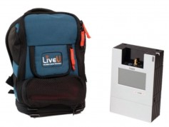 The LU500 backpack is LiveU's most popular unit.