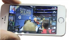 Smart phone apps increase the odds of being at the right place at the right time. Photo LiveU.