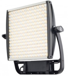 The Litepanels new ASTRA one-by-one LED panel uses surface-mount technology LEDs and Total Internal Reflection optics to produce a high-output light.