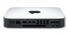 The Mac mini has no screen, no keyboard, no speakers. All you are paying for is processing power. Click to enlarge.