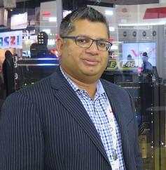 Mo Goyal, Evertz director of product marketing.