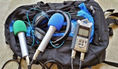 Mobile podcast kit