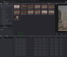 Figure 5: Select desired clips and drag down into Resolve's Media Pool.