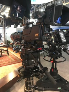 "In addition to a variety of HD cameras with HDR acquisition capability, several 8K ""broadcast"" cameras were shown on the show floor."