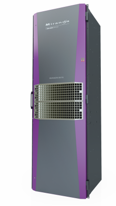 A new Nvision 8576  576x1152 router in a single 32 RU frame was chosen as the main core distribution platform.