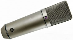 Al Schmitt's favorite microphone — the Neumann U67