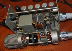 Neumann U-47 with power supply.