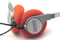 Original 1978 Walkman headsets.