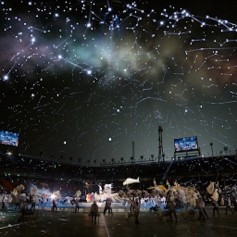 InfinitySet3 helped the Opening Ceremonies in South Korea sparkle.