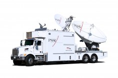 PSSI's CK35 mobile teleports were staged at a production studio in Burbank and during the live broadcasts they ingested over 30 discrete feeds via satellite, fiber and IP for remote production and re-distribution of the show around the world.