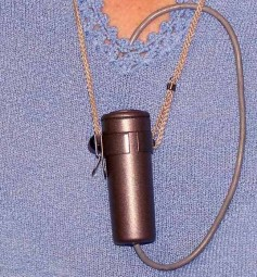 RCA BK-6B, and, at the time often used, lavalier microphone. Click to enlarge.