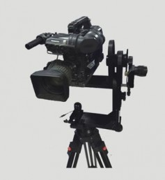 The new ST Andy fixed-seat remote control operating system is suitable for camera remote control, and for camera locations unsuitable for people. It includes electronic remote head, remote head controller, Pan & Tilt motors, Focus & Iris lens Servos, T bracket and control cable.