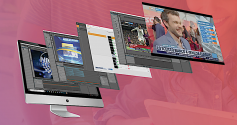 The full-featured Dalet Cube NG platform leverages Brainstorm's graphics engine to deliver superior 2D and 3D branding and visuals.