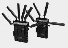 The CVW Cosmo 1500 is a wireless HDMI/SDI transmission system with intercom and tally that can operate at distances up to 1500 feet, with less than 1ms delay and zero compression.