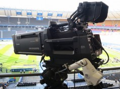 The Sony HDC-4300 as used extensively for Super Bowl LII to capture HD and 4K images simultaneously.