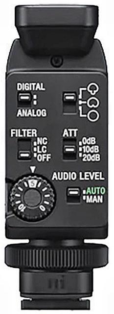 Rear mic panel