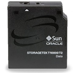 This StorageTek T10000 cartridge has a life expectancy of 30 years and can hold up to 8.5TB of data.