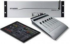 The Studer Micro Series is a compact and cost-effective digital audio mixing system that provides the features and functionality of a high-end mixing system. Click to enlarge.