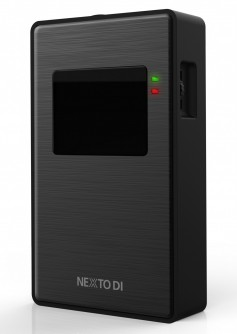The NPS-10 has built-in memory card slots and a USB port for professional still photogs and video shooters.
