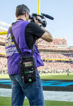 TVU Networks solutions are a popular transport for live sports updates