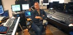 Sean Murray in his studio