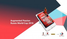 "Auggie Award Finalist ""Augmented Passion: Russia World Cup"""