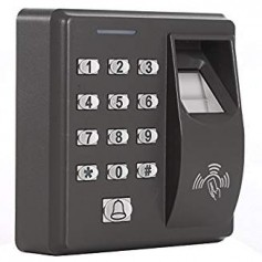 Many businesses rely on key cards or pass codes to control access to sensitive areas. Fingerprints can be used where needed to provide a higher level of protection for high security areas. Image: UHPPOTE
