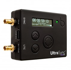 UltraSync ONE is compact, features an OLED display, has an RF sync range of up to 200m and a 25+ hour battery life. Click to enlarge.