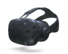 Figure 2: HTC Vive—without headphones.