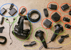 Figure 3: HTC Vive comes with everything you need.