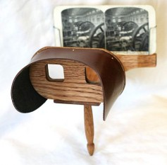 Figure 5: Justice Oliver Wendell Holmes 1850 Stereoscope.