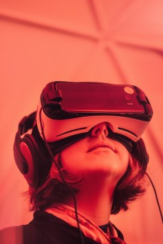 "One of the biggest challenges for VR is reducing the ""motion to photon"" latency to 20 ms or less to avoid causing nausea (photo by Samuel Zeller on Unsplash)."