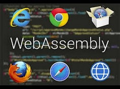 WebAssembly (abbreviated Wasm) works on all browsers. It is a binary instruction format for a stack-based virtual machine.