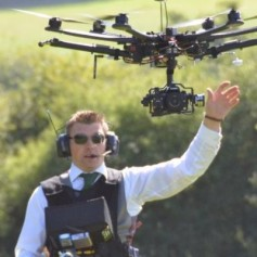 Ben Sheppard, Managing Director, Spider Aerial Filming, and UAV Pilot