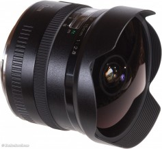 Canon fish eye lens. This unique style of lens offers still photographers a stunning viewpoint on imagery.