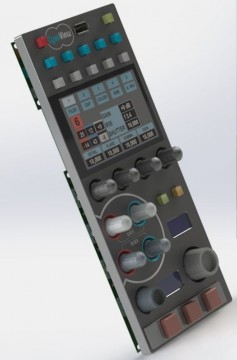 The Cy-RCP is a universal remote control panel compatible with any camera.