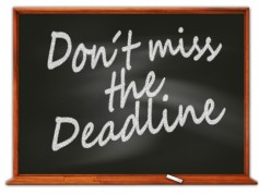 FCC deadlines are likely to be firm. Do not miss those that may impact your station.