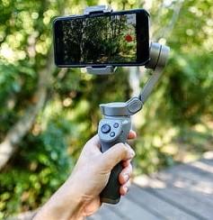 DJI Osmo Mobile 3 with iPhone.
